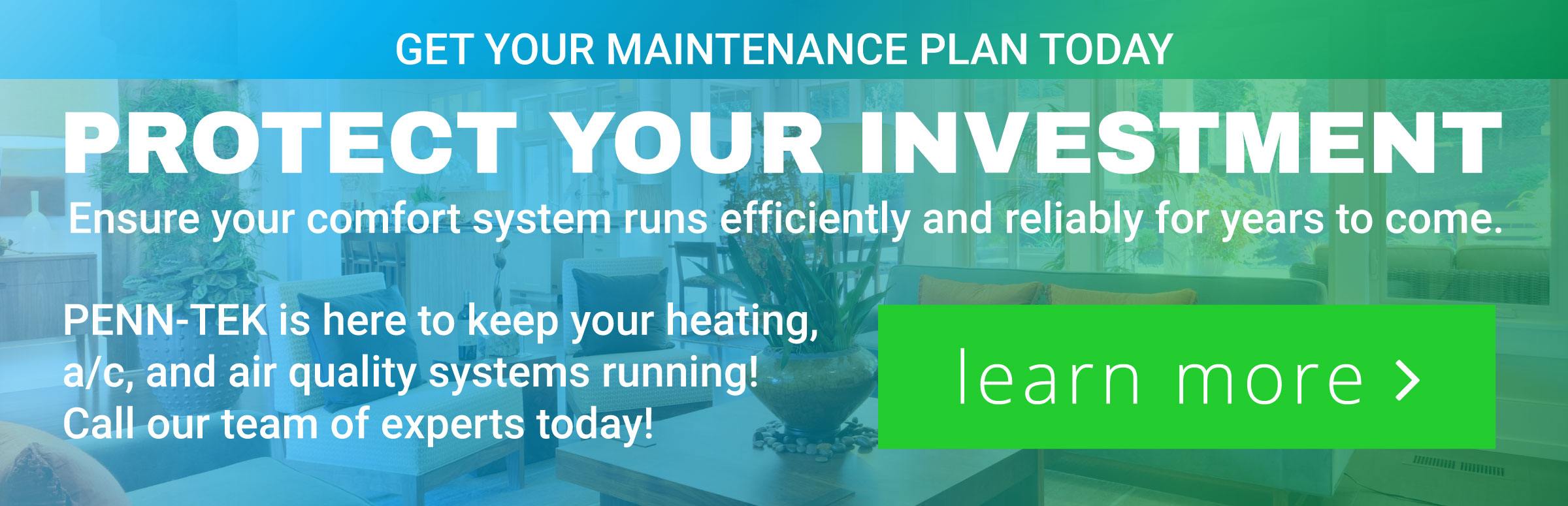 Click here to learn more about our maintenance agreement!